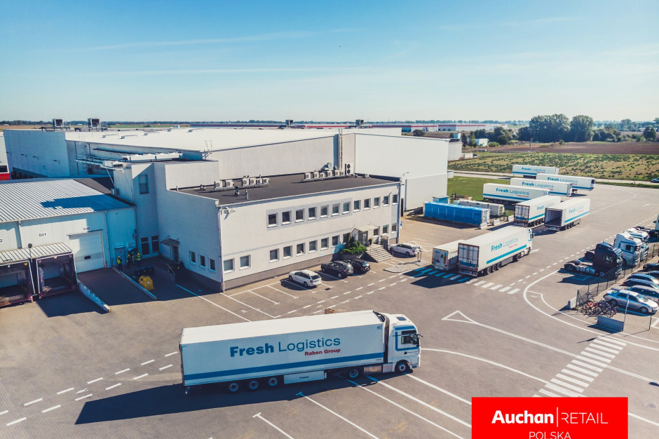 Magazyn w Gądkach staje się regionalnym centrum dla sklepów Auchan w zachodniej Polsce
