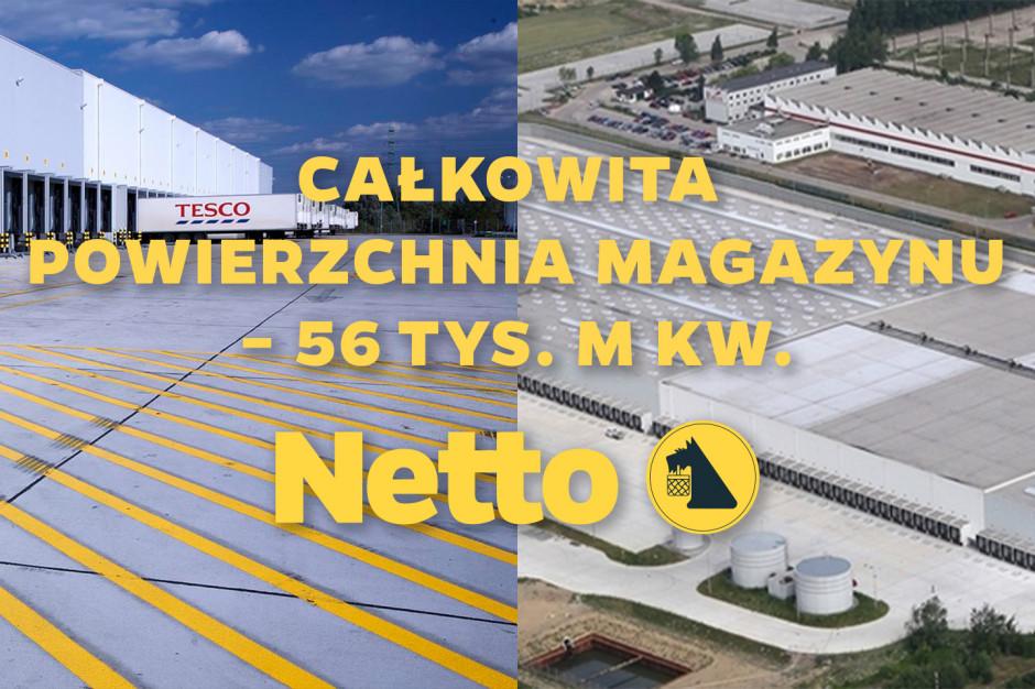 Netto rozpoczęło towarowanie magazynu przejętego od Tesco