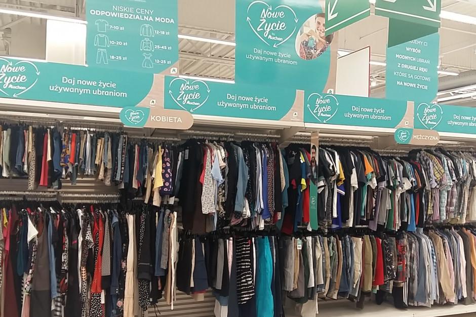 Auchan Polska będzie sprzedawać używaną odzież znanych marek