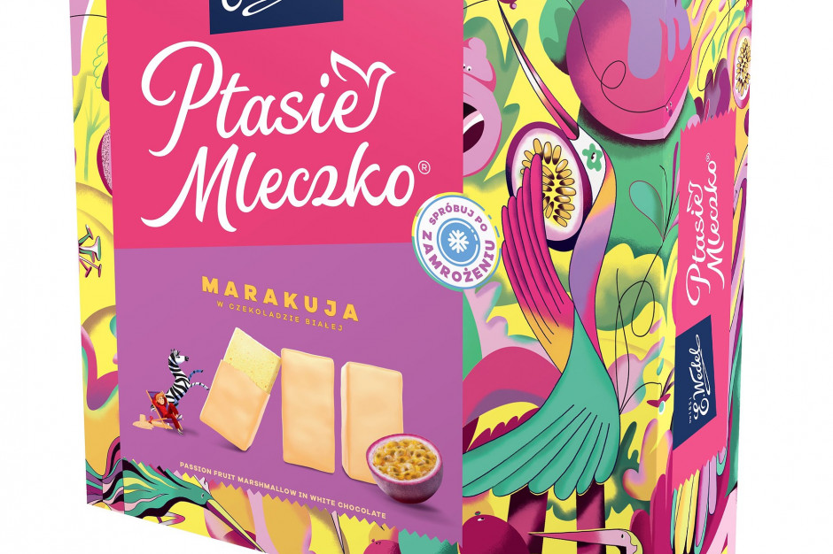 Nowy, letni smak pianek Ptasie Mleczko