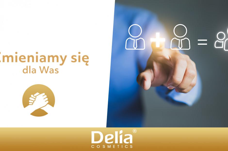 Zmiany w grupie Delia