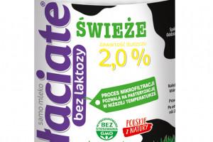 Mleko świeże Łaciate 2% w rodzinie produktów bez laktozy