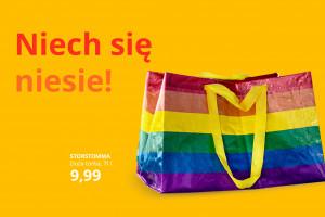 Tęczowa torba od IKEA wesprze fundację Dajemy Dzieciom Siłę
