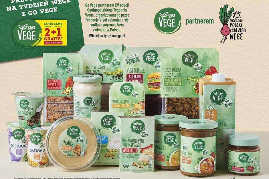 Biedronka z promocjami na produkty wege