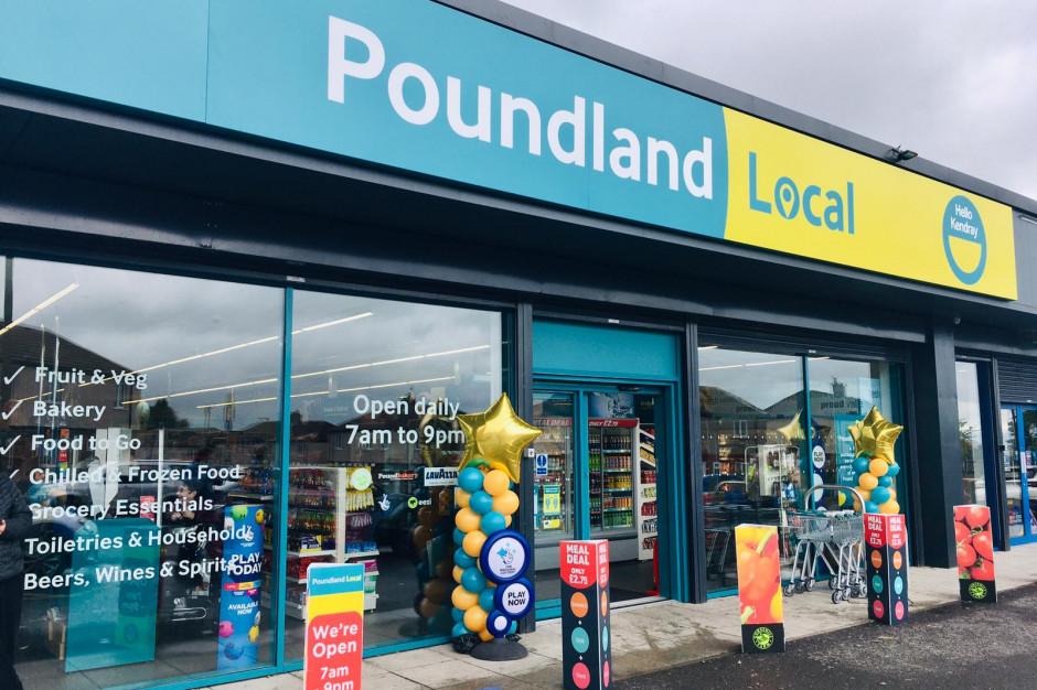 Poundland otwiera dyskonty convenience