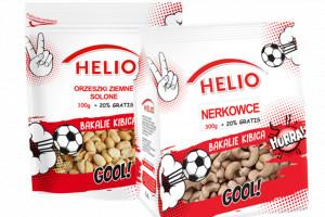 Helio wprowadza bakalie kibica na Euro 2021