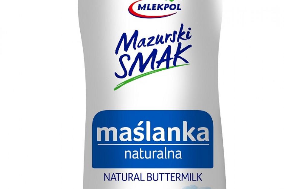 Maślanka naturalna Mazurski Smak