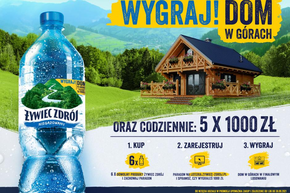 Dom w górach nagrodą w konkursie Żywiec Zdrój