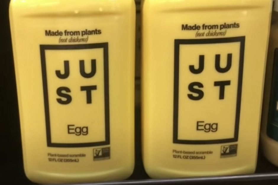 Wegańska jajecznica pojawi się na rynku europejskim