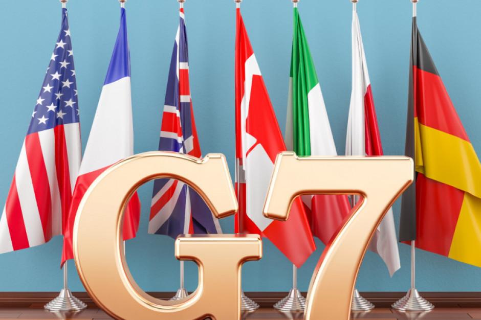 G7: opodatkowanie globalnych firm na poziomie 15 proc. w krajach prowadzenia działalności