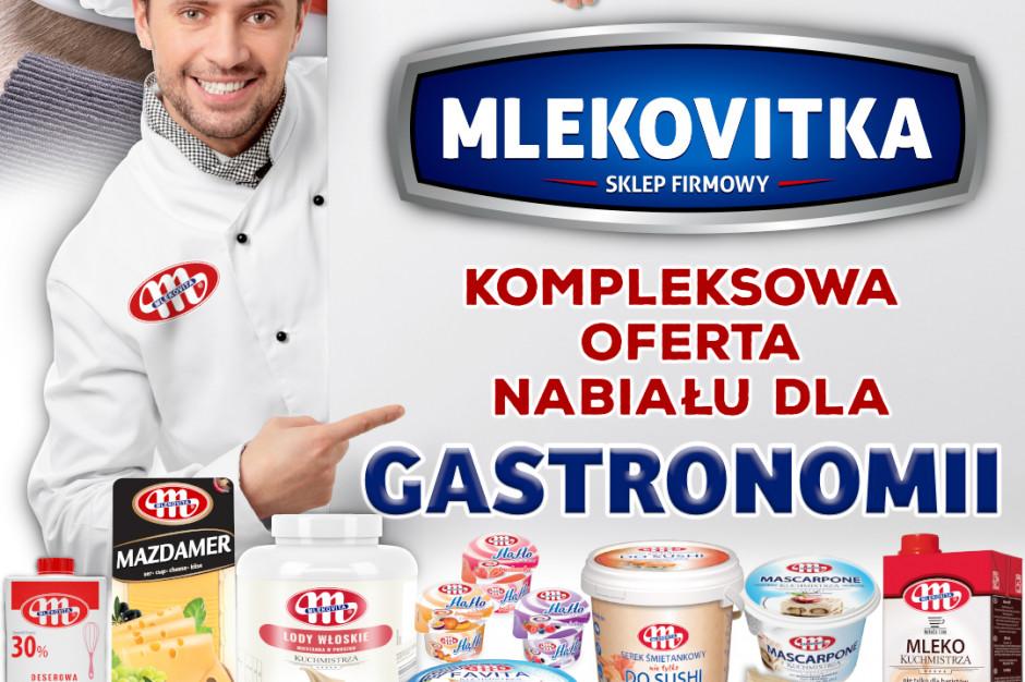Mlekovita uruchomiła sprzedaż online dla branży HoReCa