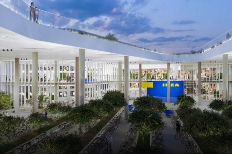 Ogród na dachu, 250 drzew, panele słoneczne - Ikea otworzy zrównoważony miejski sklep