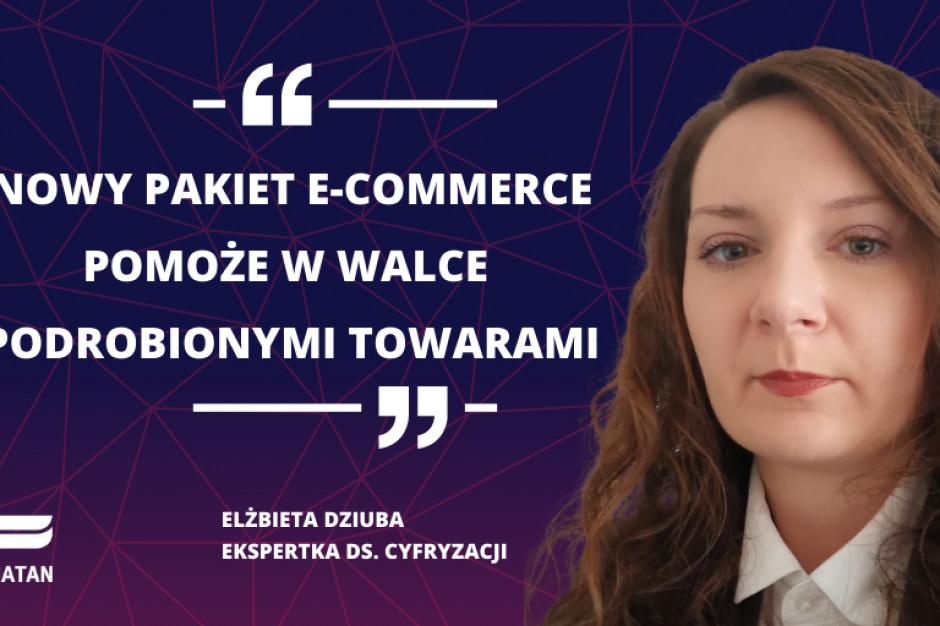 Konfederacja Lewiatan: W walce z podróbkami pomoże pakiet e-commerce
