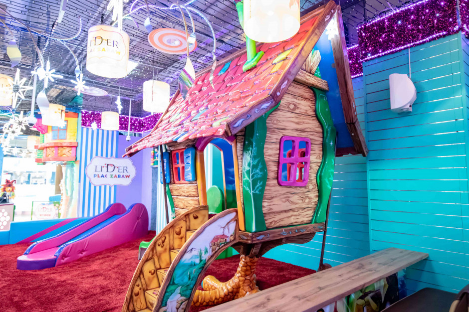 Atrium Reduta wzbogaciło swoją ofertę o plac zabaw