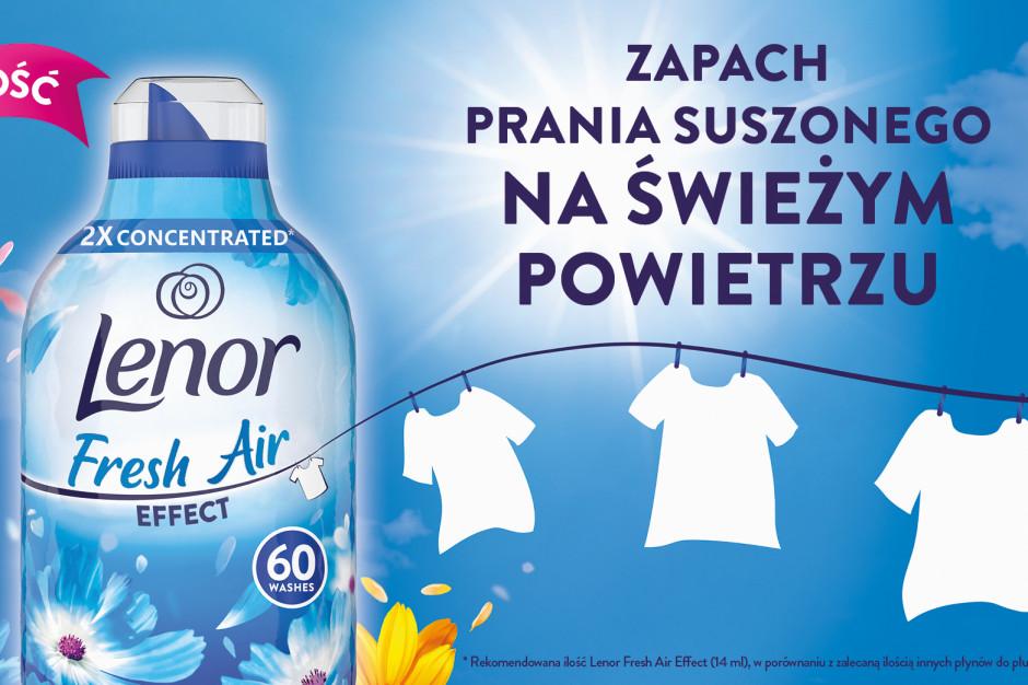 Lenor Fresh Air Effect z zapachem prania suszonego na słońcu