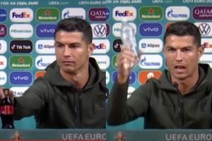 Cristiano Ronaldo zaszkodzi Coca-Coli?