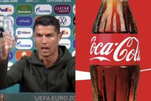 Coca-Cola traci przez Cristiano Ronaldo 4 mld dolarów. Chwilowy spadek?
