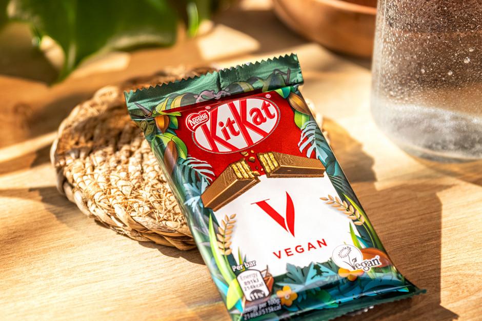 KitKat w wersji wegańskiej w sklepach Żabka