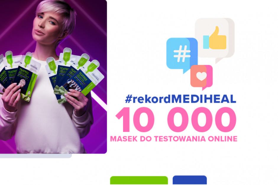 Hebe i koreańska marka Mediheal testują maski w płachcie
