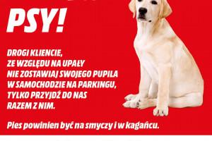 MediaMarkt zaprasza na zakupy z psem