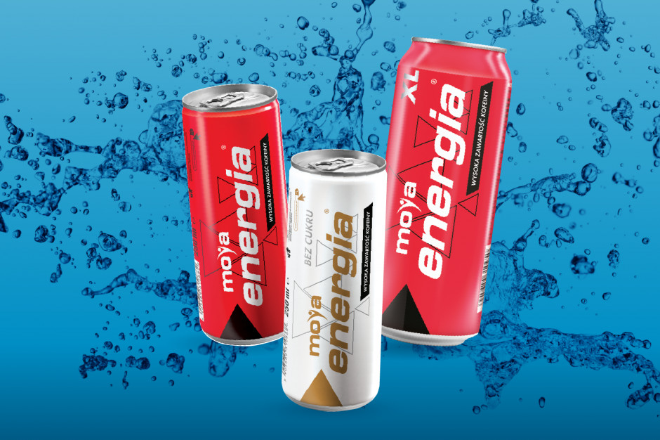 Napoje MOYA Energia w nowej pojemności