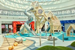 Szwedzka Wioska –  plac zabaw w Wola Parku dla dzieci z różnymi potrzebami