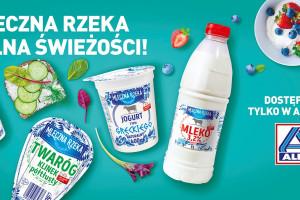 ALDI stawia na lokalnych producentów i proste składy produktów mleczarskich