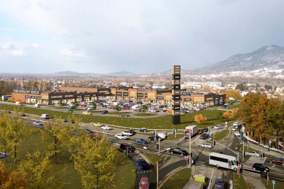 W Ustroniu powstaje park handlowy. Ponad 90% powierzchni zarezerwowane