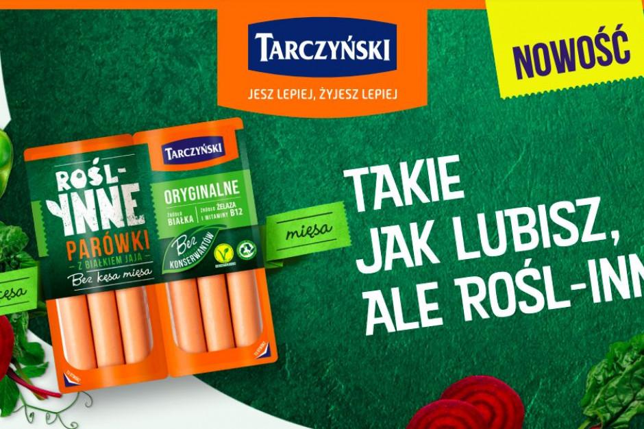 Roślinne parówki od marki Tarczyński