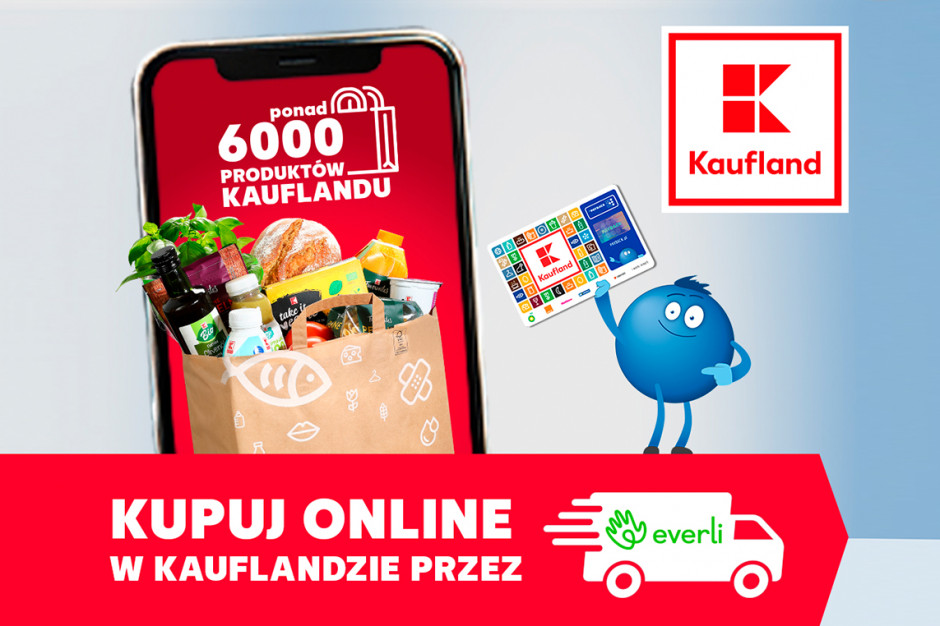 Everli dostarczy zakupy z Kauflandu w 34 miastach