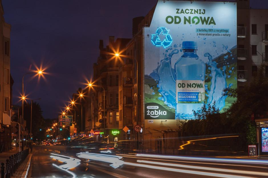 Ekologiczny mural Żabki pochłonie smog w centrum Poznania