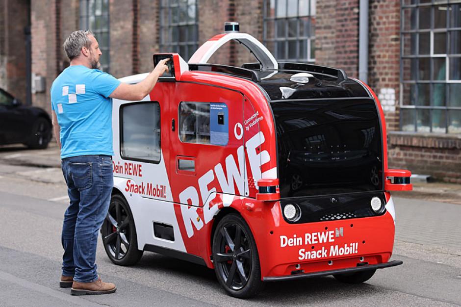 Rewe testuje autonomiczny samochód - sklep