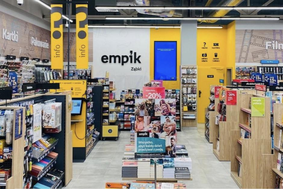 Sprzedaż Empiku spadła o 11 proc. Otwarto 14 nowych sklepów