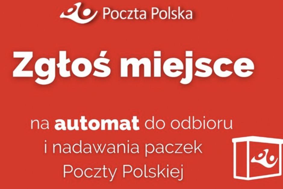 Poczta Polska szuka lokalizacji dla 2 tys. maszyn paczkowych