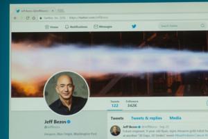 Założyciel Amazona poleciał w kosmos