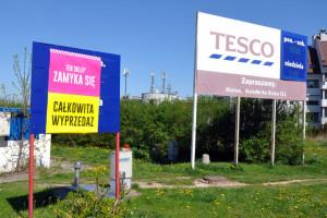 W sierpniu pięć sklepów Tesco zostanie zamkniętych na stałe