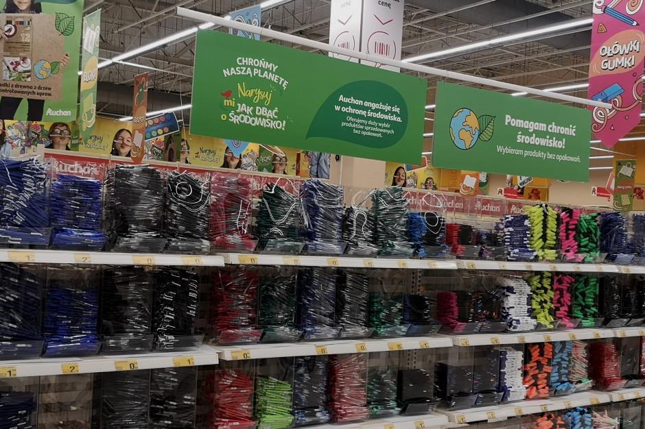 Auchan: Akcja wymiany plecaków na nowe ze zniżką 25 proc.