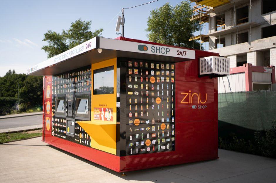 ZINU uruchomiło trzeci sklep automatyczny w Krakowie