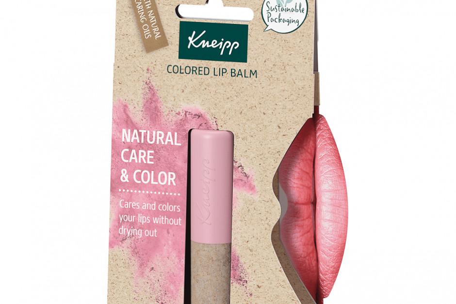 Wegańskie balsamy do ust marki Kneipp dostępne w sieci Hebe