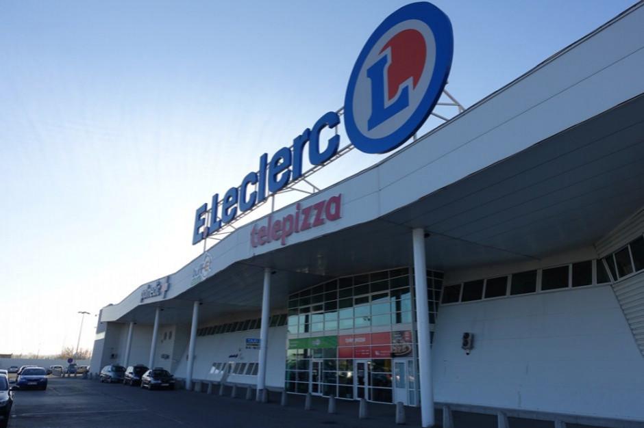 """E.Leclerc wprowadza kasy """"wolnej obsługi"""""""