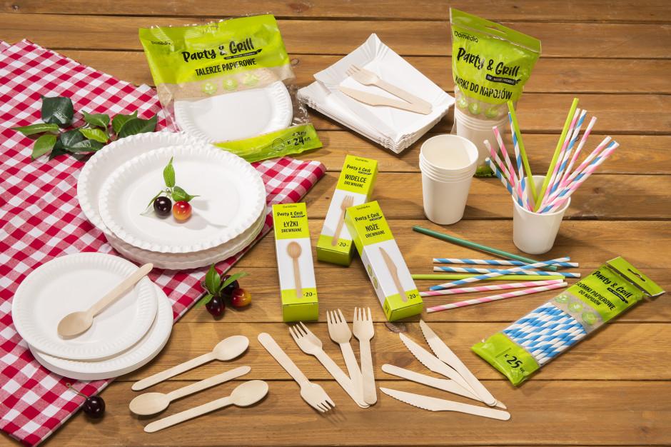 Grupa Muszkieterów ma biodegradowalne naczynia jednorazowe marki własnej