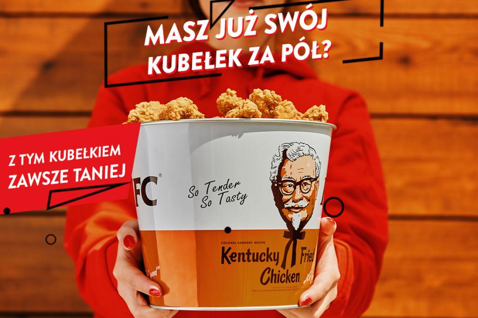 Metalowy kubełek od KFC gadżetem dla fanów marki