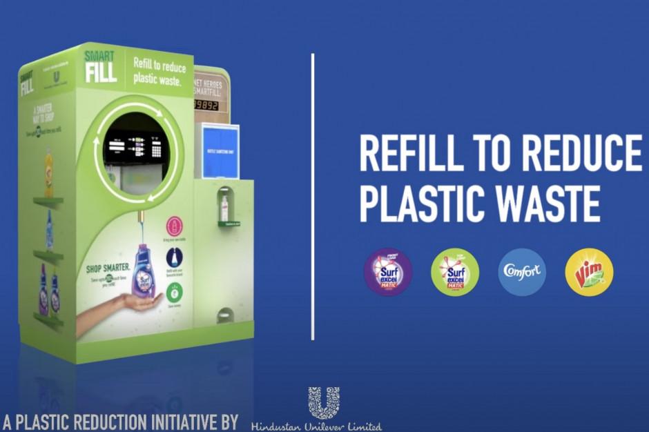 Unilever testuje maszynę do napełniania butelek