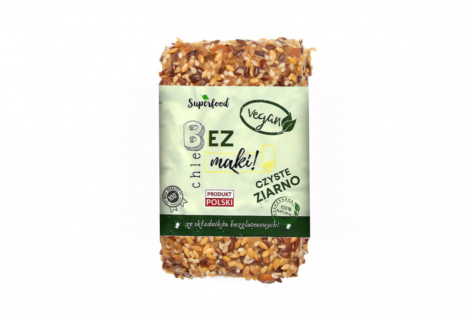 Chleb bez mąki Vegan od Grano Puro