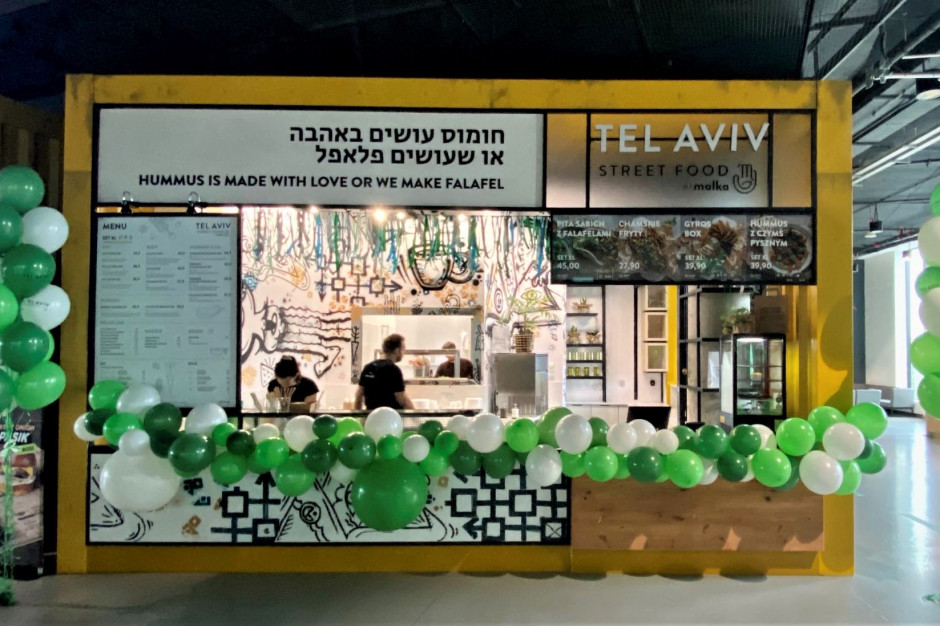 Tel Aviv z konceptem street food w Galerii Młociny