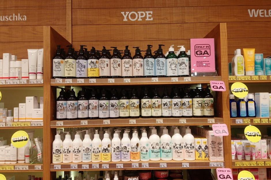 Kosmetyki Yope wchodzą na półki rosyjskiej drogerii