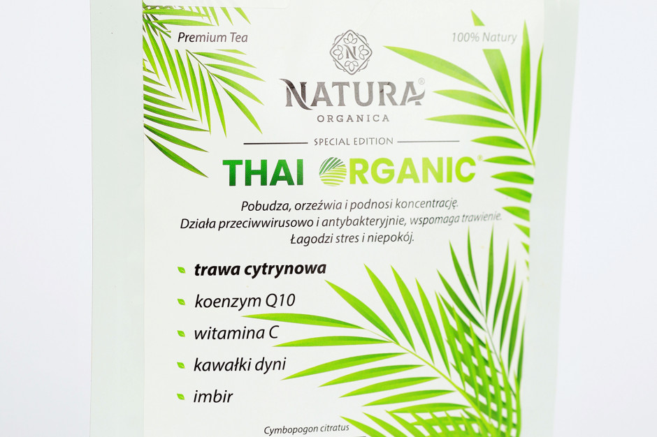 Herbata premium Thai Organic od Natura Organica