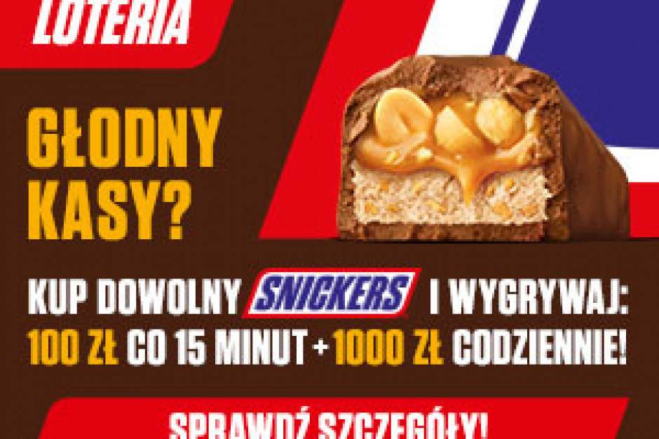 Nowa loteria Snickersa