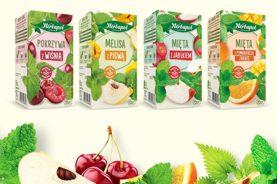 Herbapol-Lublin wprowadza serię Zioła ze smakiem