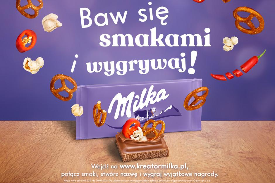 Mondelez wprowadza kreator smaków Milka. Powstaną autorskie czekolady